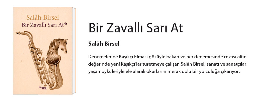 BİR ZAVALLI SARI AT