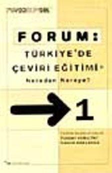 FORUM:Türkiye'de Çeviri Eğitimi