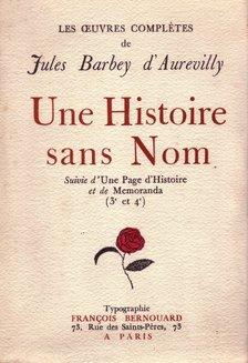 Une Histoire Sans Nom